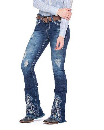 Calça Jeans Zenz Western Royal