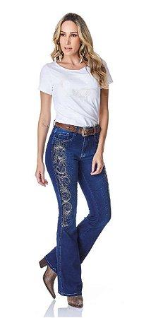 Calça Jeans Minuty Feminina Cós Medio 20664