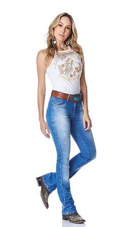 Calça Jeans Minuty Feminina Cós Medio 20747