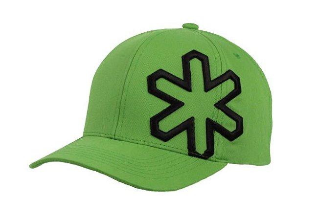 Boné Tuff Wells Verde Logo Preto