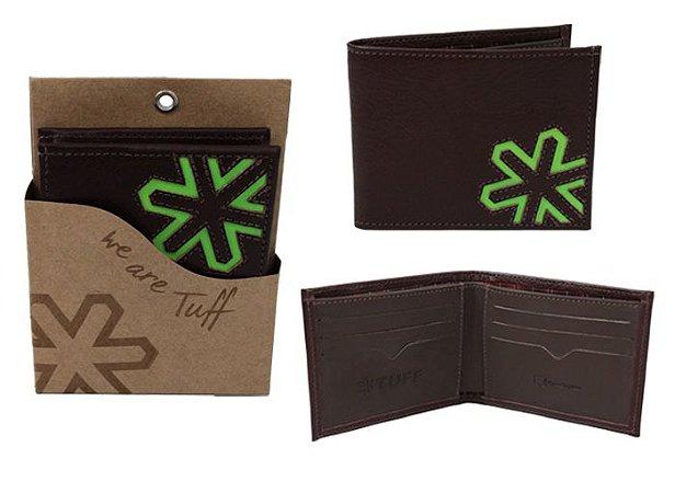 Carteira Tuff Masculina Logo Verde CART2146