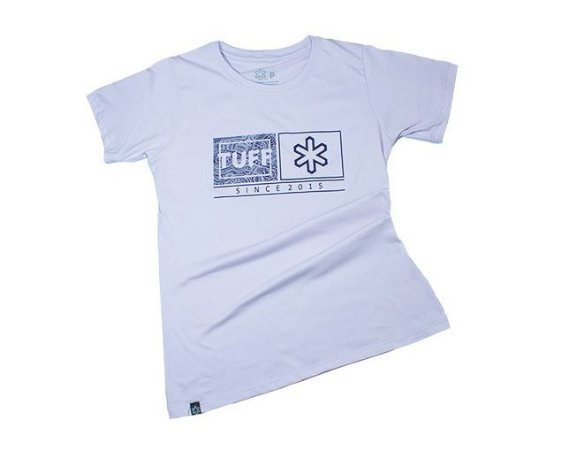 Camiseta Tuff Fem Rosa Silk Roxo