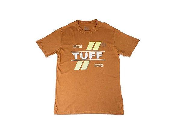Camiseta Tuff Masculina Marrom Silk Tuff