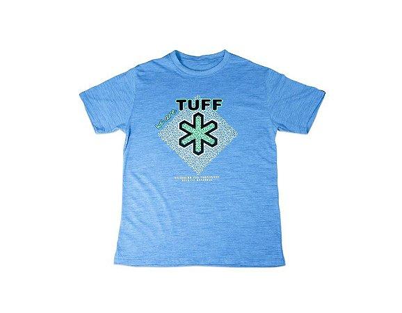 Camiseta Tuff Masculina Mescla Azul Silk Preto Verde