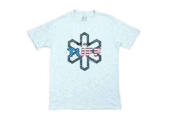 Camiseta Tuff Masculina Mescla Logo Tuff