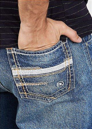 Calça Jeans Docks White Laranja 2364