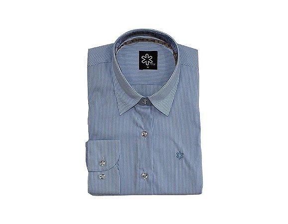 Camisa Tuff Fem ML Azul