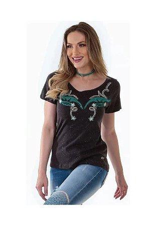 Camiseta Zenz Western Feminina Antique