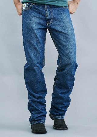 Calça Jeans Docks Masculina White Relaxed 1440