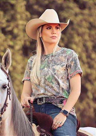 Camiseta Zenz Western Feminina Outdoor