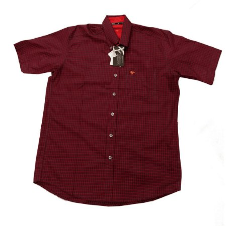 Camisa Tomahawk Masc. M/C Bordo TMKMMC2102