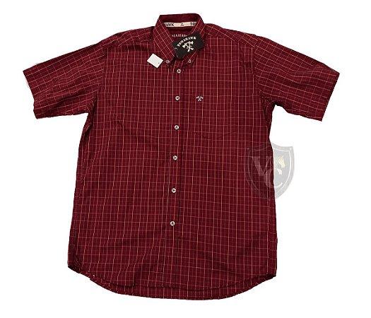 Camisa Tomahawk Masc. M/C Bordo TMKMMC2115