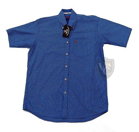 Camisa Tomahawk Masc. M/C Azul TMKMMC2116