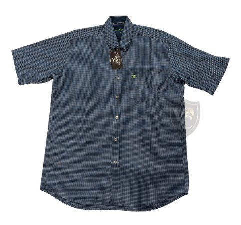 Camisa Tomahawk Masc. M/C Azure Blue TMKMMC2123