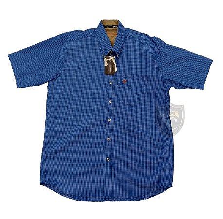 Camisa Tomahawk Masc. M/C Royal Blue TMKMMC2132