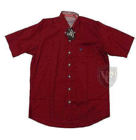 Camisa Tomahawk Masc. M/C Bordo TMKMMC2137