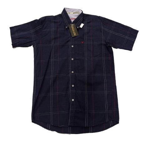 Camisa Bucks Masc. M/C Navy BWMMC2105