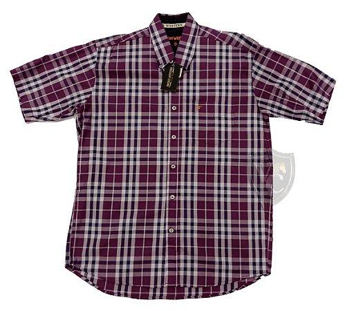 Camisa Bucks Masc. M/C Orchid BWMMC2107