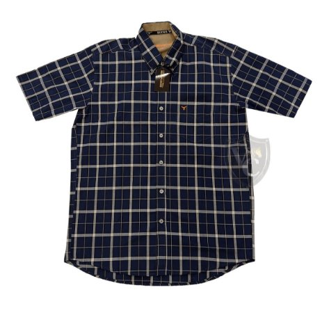 Camisa Bucks Masc. M/C Navy BWMMC2114