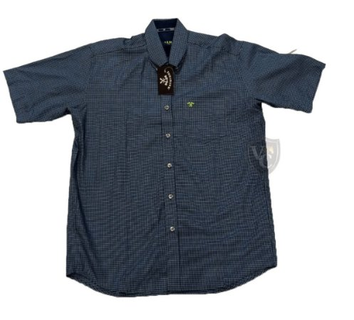 Camisa Tomahawk Masc. M/C Azul TMKMMC2145