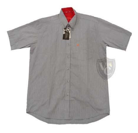 Camisa Tomahawk Masc. M/C Cinza TMKMMC2105