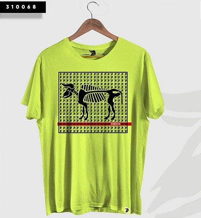 Camiseta Aurochs Masculina Verde Fluor 310068