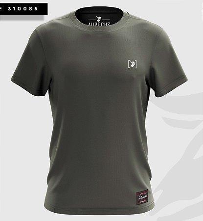 Camiseta Aurochs Masculina Básica Verde Musgo 310085