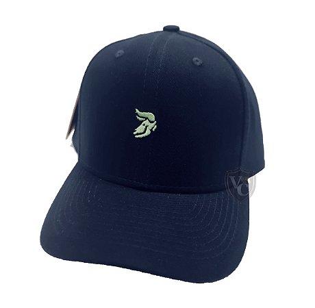 Boné Aurochs Azul Marinho Logotipo Verde 210006