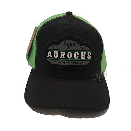 Boné Aurochs Preto Auto Relevo Aurochs 210014