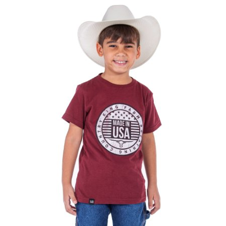 Camiseta King Farm Infantil KFIGCK82