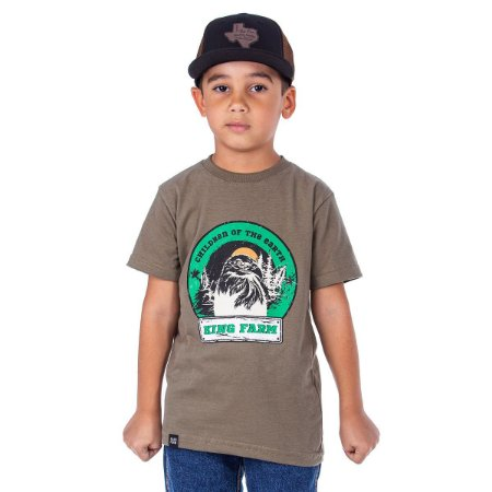 Camiseta King Farm Infantil KFIGCK02