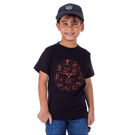 Camiseta King Farm Infantil KFIGCK86