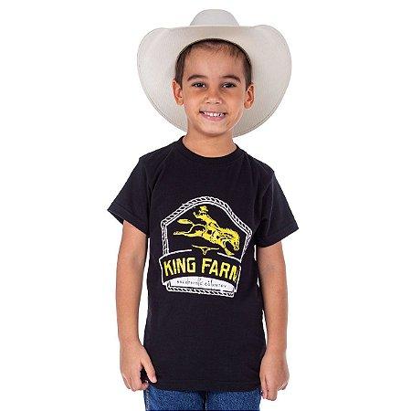 Camiseta King Farm Infantil KFIGCK89