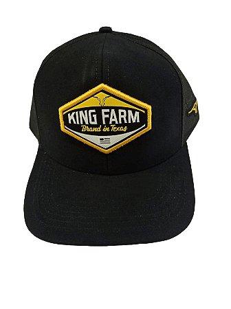 Boné King Farm Preto Brand In Texas KF20