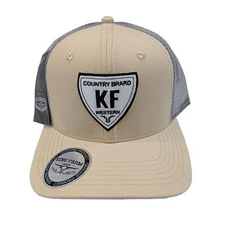 Boné King Farm Creme Country Brard KF762