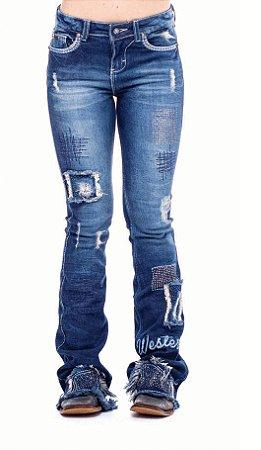 Calça Jeans Zenz Western Circus Circus ZW0121011
