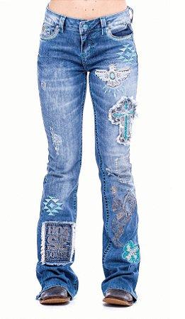 Calça Jeans Zenz Western Fabulous ZW0121008