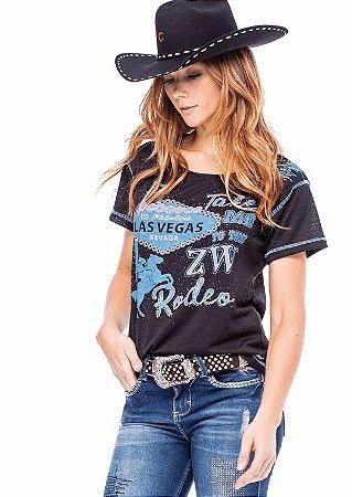 Camiseta Zenz Western Feminina Nevada ZW0121040