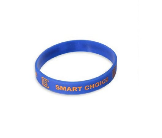 Pulseira Silicone Smart Choice Azul PUL3685