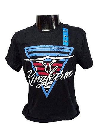 Camiseta King Farm Masculina Preto GCM162P