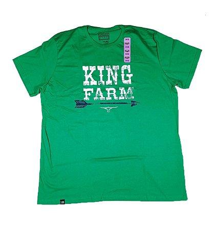 Camiseta King Farm Masculina Verde GCM153V