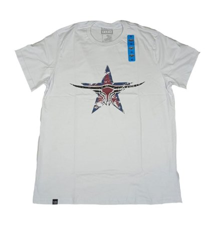 Camiseta King Farm Masculina Branco GCM174B