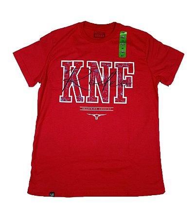 Camiseta King Farm Masculina Vermelho GCM189