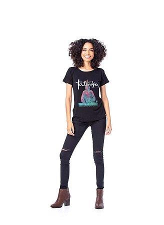 Camiseta Tatanka Feminina Preto TTK0421108