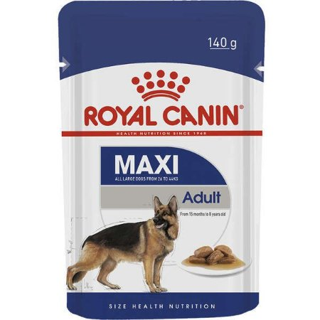 Sachê Royal Wet Adulto Maxi Raças Grandes 140g