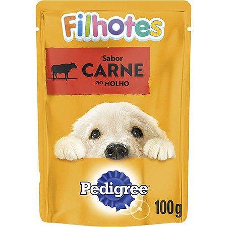 Pedigree Sachê Carne ao Molho para Cães Filhotes