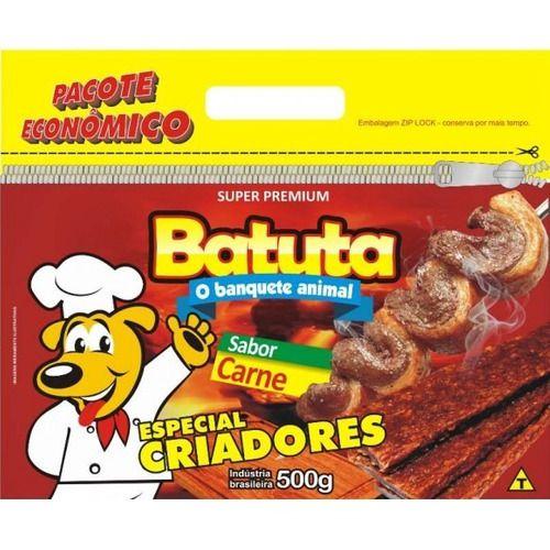 Bifinhos Para Cães Batuta Sabor Carne 500g