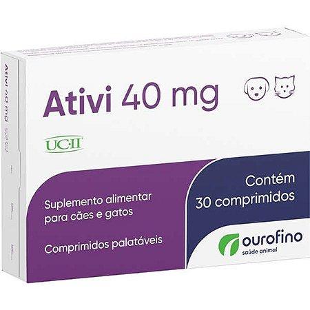 Suplemento Alimentar Ativi 40 mg