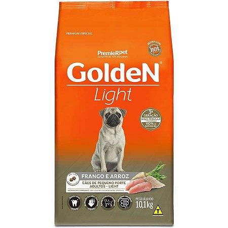 Ração Golden Cães Adultos Light Mini Bits Frango 10kg