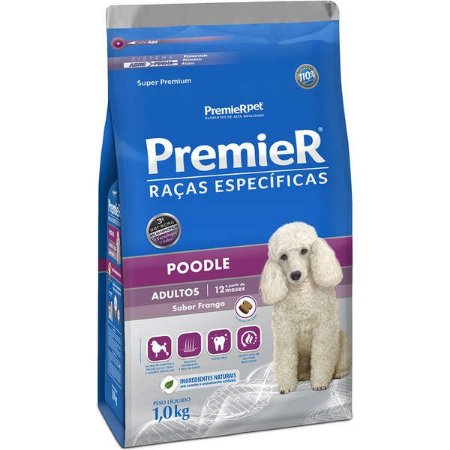 Ração Premier Raças Específicas Poodle Adulto 1kg